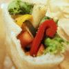 RINCAFEの夏野菜ピクルスのサラダサンド。