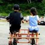 へんてこ自転車で・・・群馬サイクルスポーツセンター。 -2016夏・家族旅行 at 水上