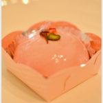 成田屋の木苺と桜のムース