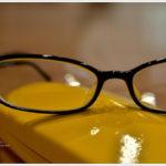 所謂スタンダードな黒ぶち眼鏡。 -JINS
