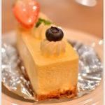 パティスリーFのレアチーズ。