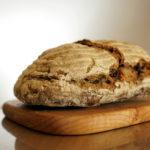 窯焼きパンとビスケットのお店 ビアンキュイのカンパーニュ。