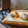 虎屋cafe.で和菓子プレートランチ。