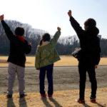 第5回 上州藤岡 蚕マラソン 小学生・親子ファミリーの部。