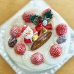 仏蘭西菓子 MIKADOのクリスマスケーキ。