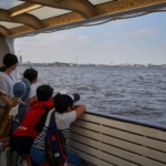 横浜観光船 シーバスでベイエリアの名所クルーズ。 -2018・夏 家族旅行 at 横浜