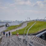 横浜港大さん橋 国際客船ターミナル。 -2018・夏 家族旅行 at 横浜