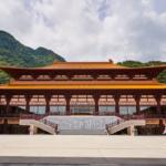 2018年4月落成、伊香保の街の臨済宗 佛光山法水寺。