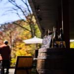 軽井沢風情と秋の旅情、ハルニレテラスで紅葉狩り。