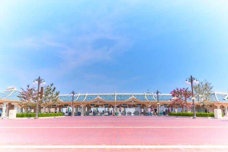 東京ディズニーランド -千葉県浦安市舞浜