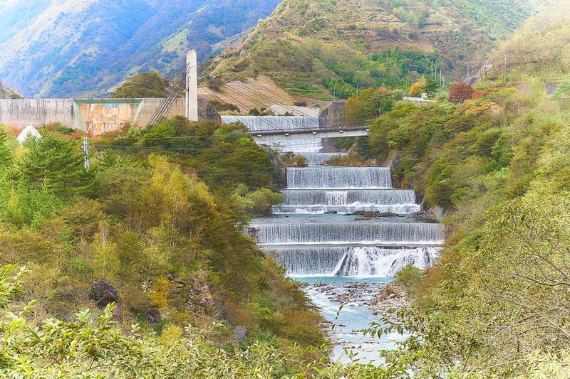 足尾砂防ダム -栃木県日光市足尾町