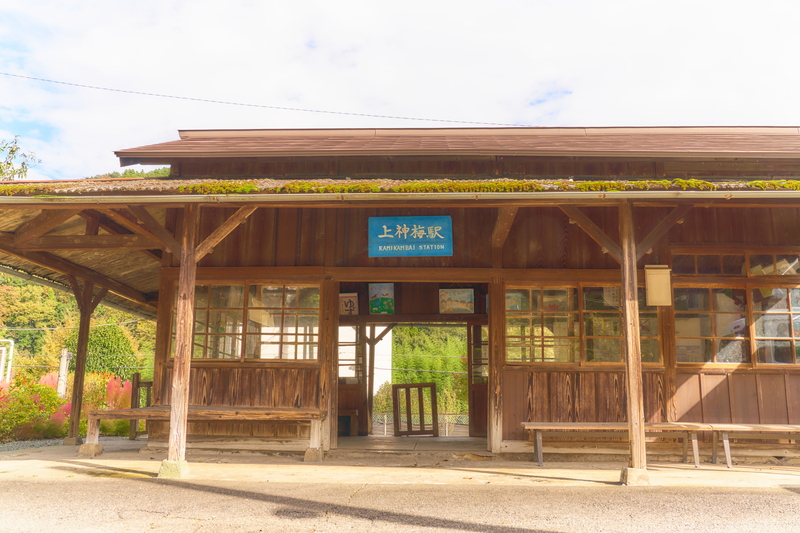 上神梅駅  -群馬県みどり市東町