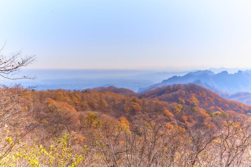 見晴台 -長野県軽井沢町・群馬県安中市