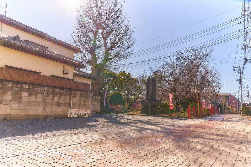 於菊稲荷神社 -群馬県高崎市