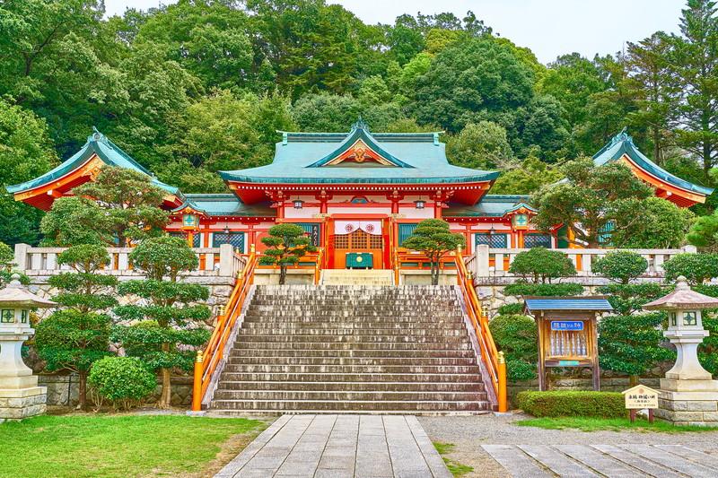 足利織姫神社 -栃木県足利市