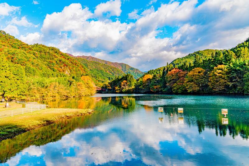 四万湖・中之条ダム -群馬県吾妻郡中之条町