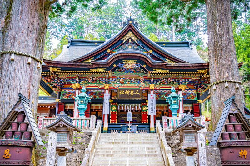 三峰神社 -埼玉県秩父市三峰