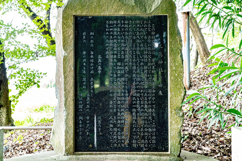 三島神社 群馬県太田市藪塚町